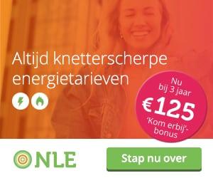 €125,00 Kom erbij Bonus NLE
