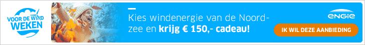 Nu €150,00 Korting bij Groene Energie van ENGIE