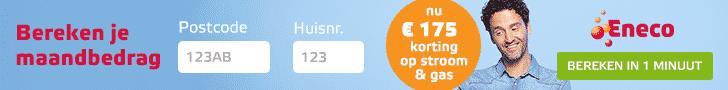 Tijdelijk Online Aanbod; Ontvang €175 Korting bij Eneco
