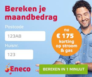 €175,00 Korting bij Eneco!