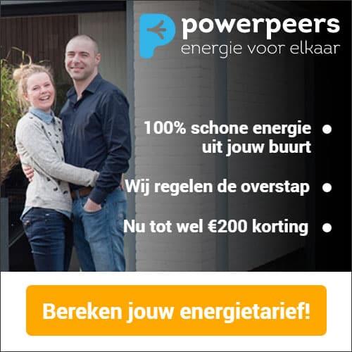 Tijdelijk €200,00 Korting bij Powerpeers