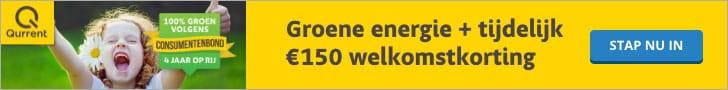 €150,00 Korting bij Qurrent
