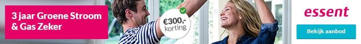 €300,00 Korting bij Essent
