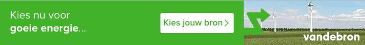 100% Groen + €300,00 Korting bij Vandebron