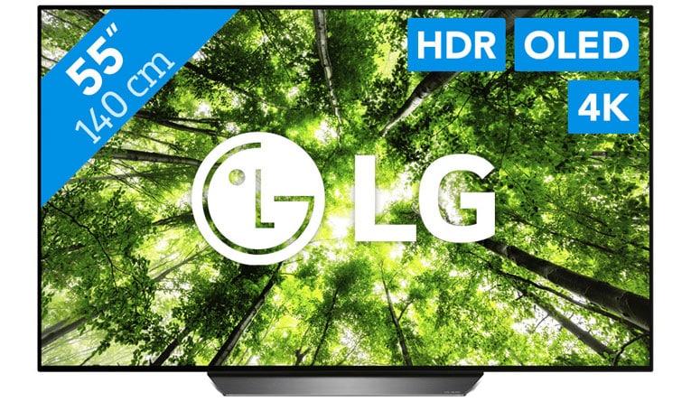Beste energiezuinige tv - LG OLED55B8PLA