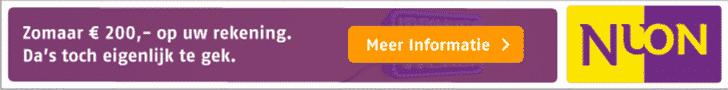 Ontvang €250,00 cashback tijdens de Nuon Helemaal uit je Stekker weken!