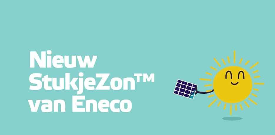 Eneco StukjeZon, ontvang 5 jaar lang korting op uw energierekening!