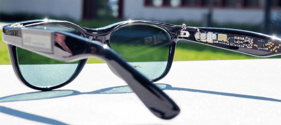 Energie opwekken met duurzame zonnebril