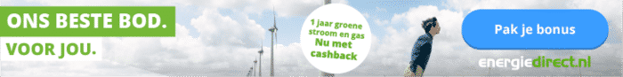 €95,00 Korting Energiedirect.nl 1 Jaar