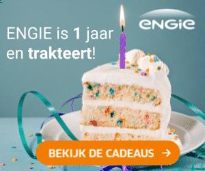 Energieleverancier ENGIE is jarig en trakteert!