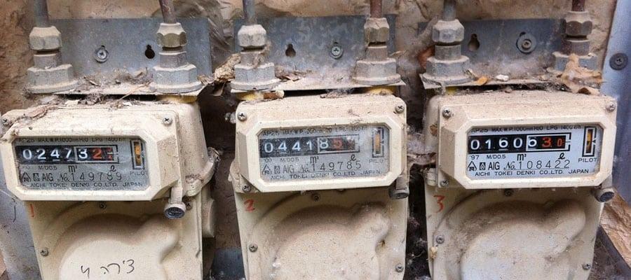 Gasmeter installeren of wijzigen