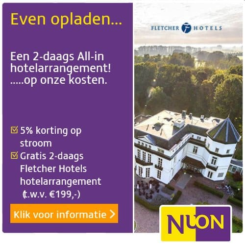 Gratis 2-daags All-in Fletcher Arrangement + Nuon Blijven Loont Korting