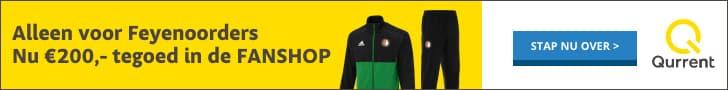 Gratis Feyenoord Fanshop Cadeaubon bij Qurrent