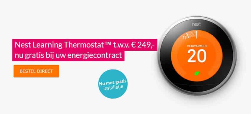 Slimme Nest Thermostaat bij Essent