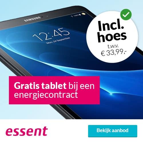 Gratis Samsung Galaxy Tab A 10.1 (32GB) bij Essent 3 Jaar Vast