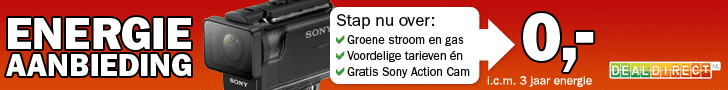 Gratis Sony Full HD Action Cam HDR-AS50 bij DealDirect