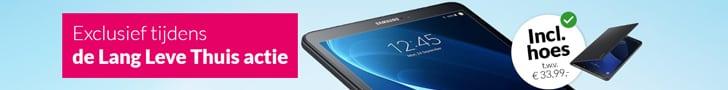 Gratis Samsung Galaxy Tab A 10.1 (32GB) bij Essent