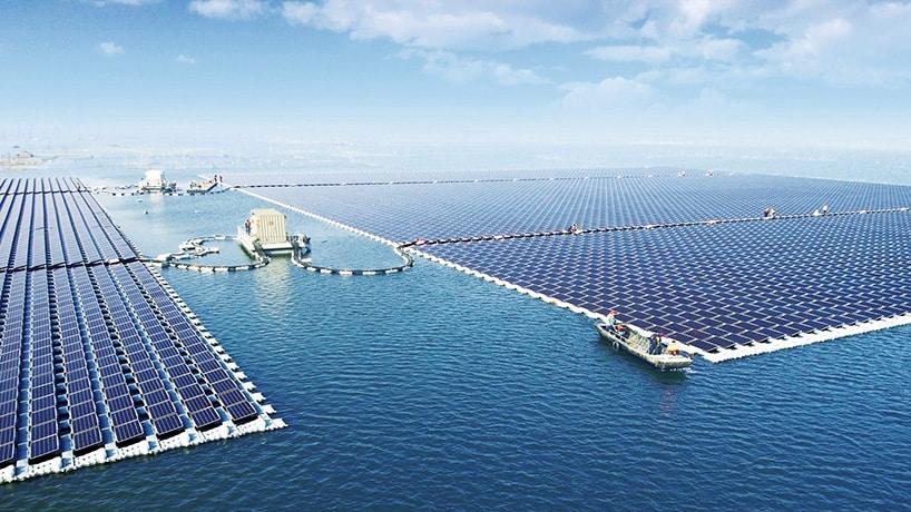 Hebben drijvende zonneparken de toekomst?
