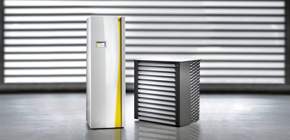 Warmtepomp verwarmingssysteem