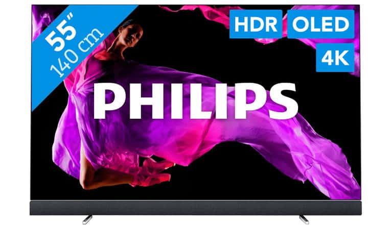 Meest energiezuinige tv - Philips 55OLED903