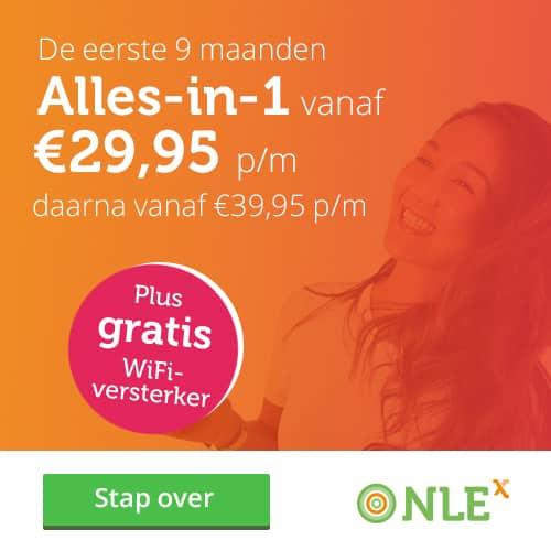 NLE Alles-in-1 vanaf €29,95 per maand