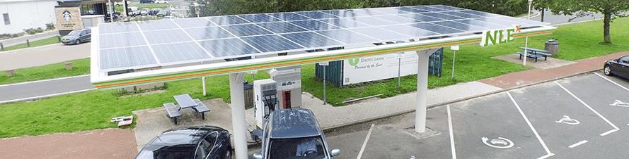Nederlandse Energie Maatschappij opent eerste snellaadstation