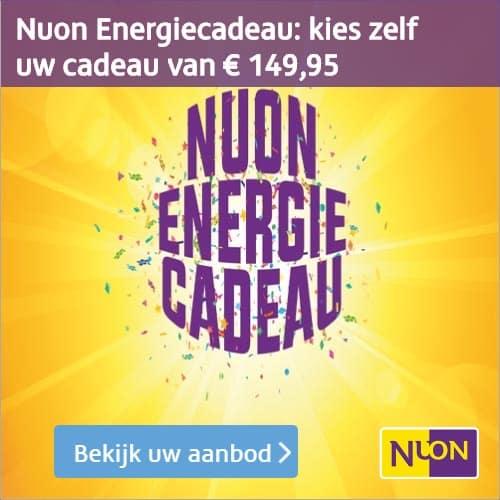 Nuon Energiecadeau; Kies uw eigen cadeau ter waarde van €149,95