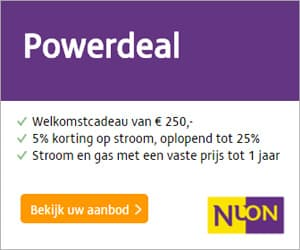 Nuon Powerdeal 250 Euro Korting