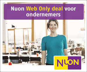 Nuon Web Only Deal voor Ondernemers