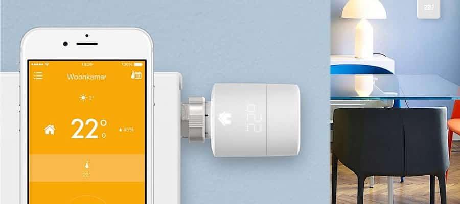 Tado App met Slimme Radiatorknop