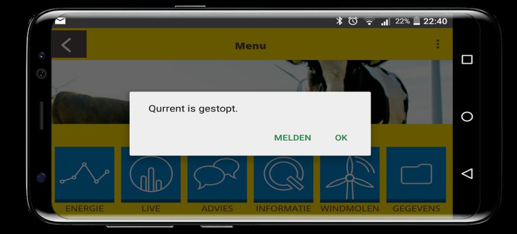 Vastlopen Qurrent App