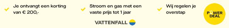 Ontvang een AH cadeaukaart cadeau bij Vattenfall!
