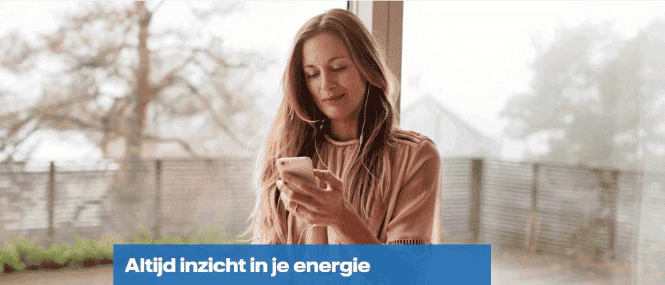 Handig; Inzicht met de Vattenfall App