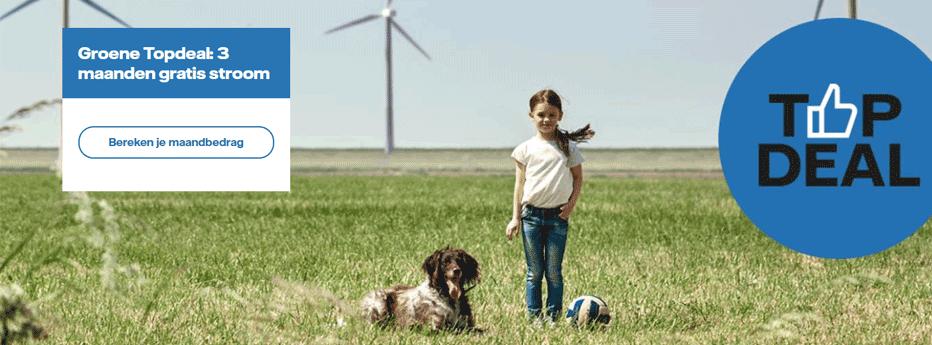 Vattenfall Groene Topdeal - Gratis Stroom + Softybag t.w.v. € 70,-