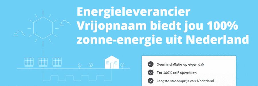 Voordelen energieleverancier Vrijopnaam