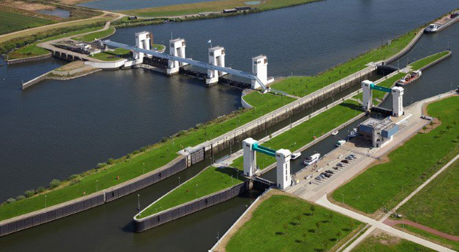 Waterkrachtcentrale Nuon - Alphen aan de Maas