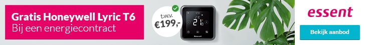 Honeywell Lyric T6 Cadeau bij Essent
