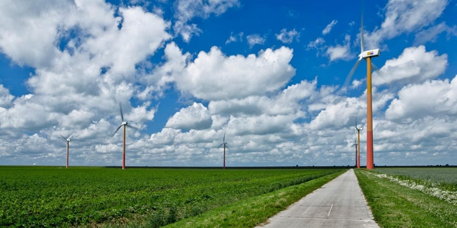 Windmolens Windpark Nuon