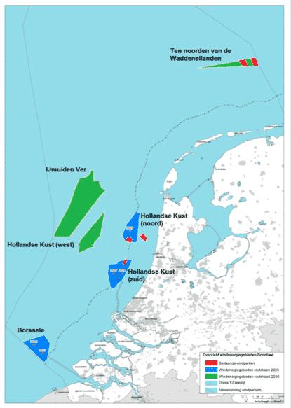 Windparken Noordzee straks goed voor 40% energievoorziening